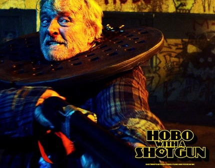 HOFF 2011: HOBO WITH A SHOTGUN Review