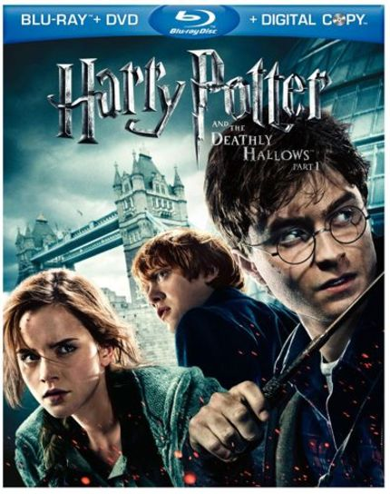 HARRY POTTER AND THE DEATHLY HALLOWS PART 2 on BluRay.