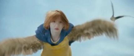 Little Girl Flies South In Dutch Kids' Fantasy EEP!