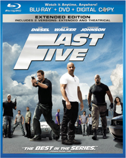 Blu-ray Review: FAST FIVE Is (Mostly) My Kind of Dumb