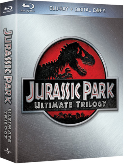 JURASSIC PARK And Its Sequels Go Hi-Def (Blu-ray Review)