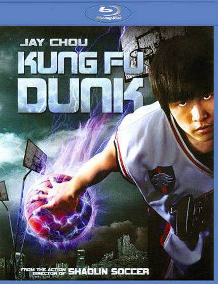 KUNG FU DUNK on Blu-ray Falls Flat But Looks Good