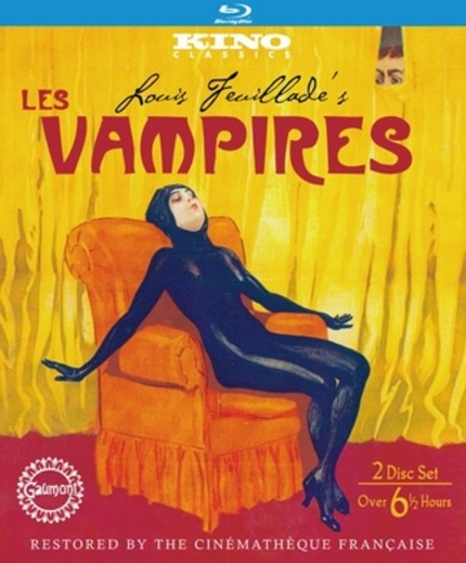 Blu-ray Review: LES VAMPIRES Still Knocks 'Em Dead