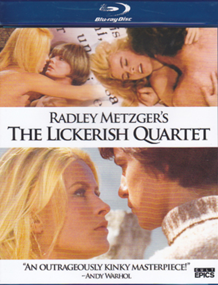 THE LICKERISH QUARTET Blu-ray Review