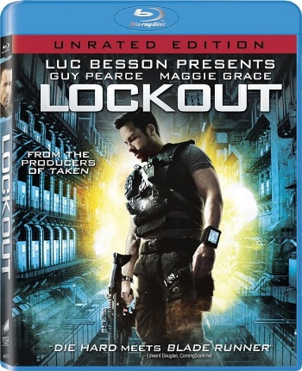 Blu-ray Review: LOCKOUT - You Can't Escape Your Inspirations