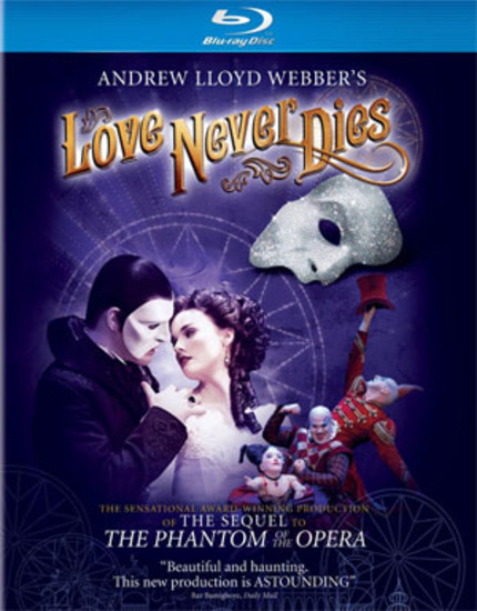 Blu-ray Review: LOVE NEVER DIES, But It Sure Smells Funny