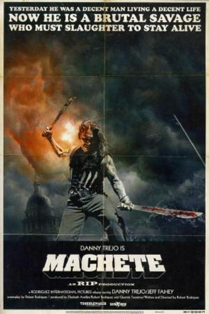 The New MACHETE Trailer. Utter Madness. Watch Now.