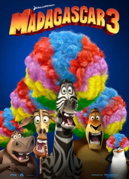 Review: MADAGASCAR 3: EUROPE'S MOST WANTED Provides a 3D Spectacle
