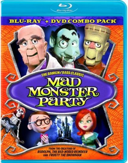 Blu-ray Review: MAD MONSTER PARTY & The Challenges Of Raising A Monster Kid