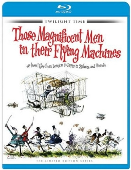 Blu-ray Review: THOSE MAGNIFICENT MEN IN THEIR FLYING MACHINES (Twilight Time)