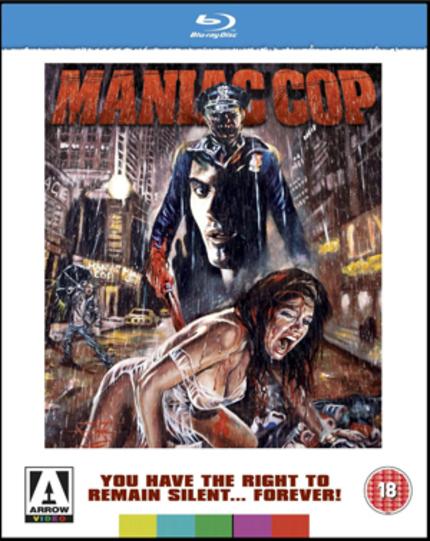 MANIAC COP Blu-ray Review (UK)