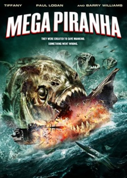It's MEGA PIRANHA Versus Helicopter! Guess Who Wins!