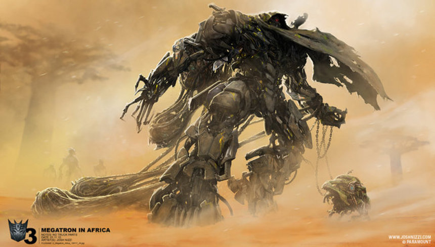 Concept Art For TRANSFORMERS: DARK OF THE MOON