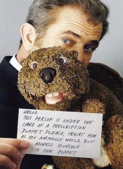 AFM 2010: Mel Gibson Has A BEAVER