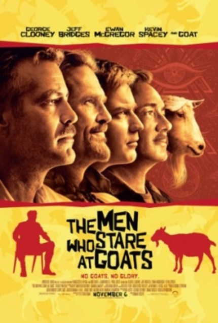 The Men Who Stare At Goats review