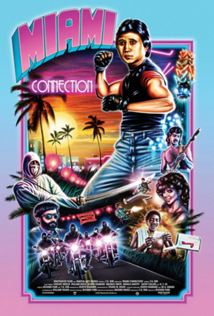 Fantastic Fest 2012 Review: MIAMI CONNECTION Is The Best Tae Kwon Do Rock Avengers VS. Ninjas & Stupid Cocaine Film You've Never Seen
