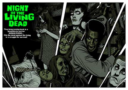 Poster Alert! Night of the Living Dead