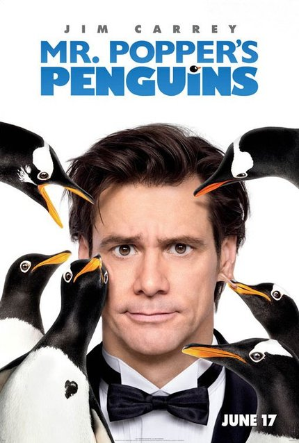 MR. POPPER'S PENGUINS barely registers.