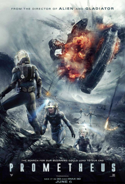 PROMETHEUS Featurette With Charlize Theron And New Footage