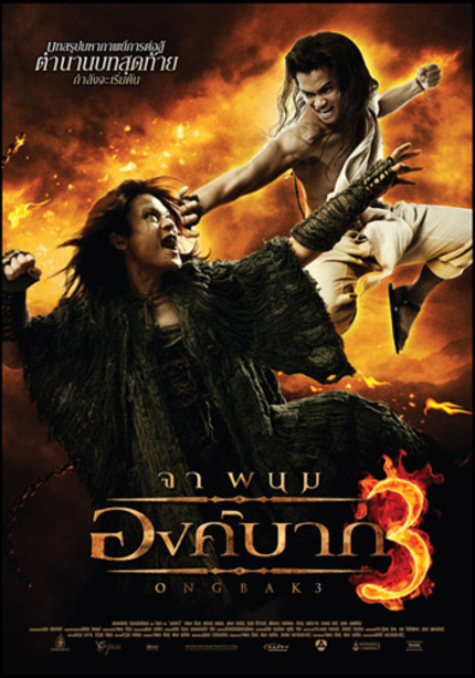 ONG BAK Star Tony Jaa Joins The Monkhood.