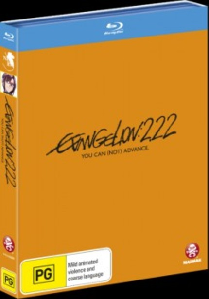 NEON GENESIS EVANGELION 2.22 YOU CAN (NOT) ADVANCE Bluray Review