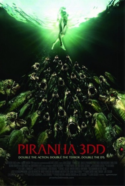 Boobs, And Blood, And The Hoff, Oh My! It's the Red Band Trailer for PIRANHA 3DD