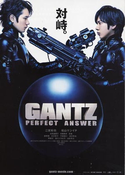 GANTZ's PERFECT ANSWER Is A Gun In The Face.