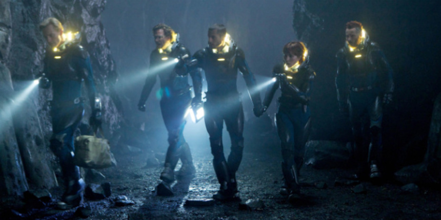 Review: PROMETHEUS Soars, Then Stalls