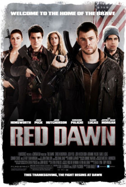 RED DAWN Trailer Reawakens Fear in America! Or, At Least, It Tries