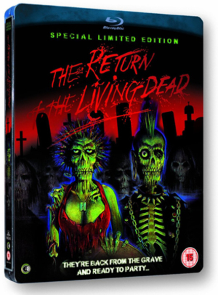 The Return Of The Original Soundtrack Of THE RETURN OF THE LIVING DEAD Coming To UK Blu-ray From Second Sight!