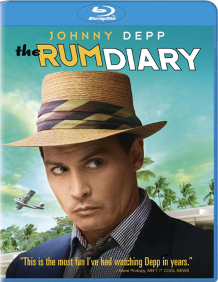 Blu-ray Review: THE RUM DIARY Is Watered-Down Hunter S. Thompson