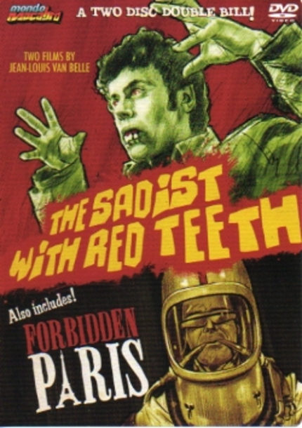 SADIST WITH RED TEETH and FORBIDDEN PARIS DVD Review