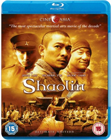Cine Asia Brings SHAOLIN To UK Blu-ray/DVD 12th September