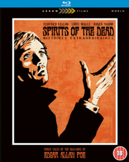 [WINNERS!] Two Copies of Arrow Films SPIRITS OF THE DEAD Blu-ray Up For Grabs!