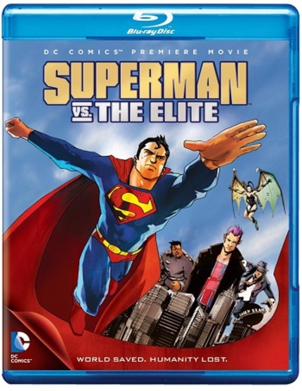 Blu-ray Review: SUPERMAN VS. THE ELITE - Killing Heroes