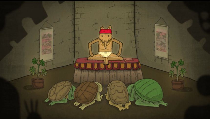 Check Out This Totally Radical Animated NINJA TURTLES Tribute!