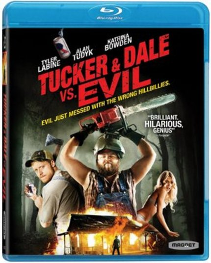 TUCKER & DALE VS EVIL Slashes Its Way To Home Video November 29th!