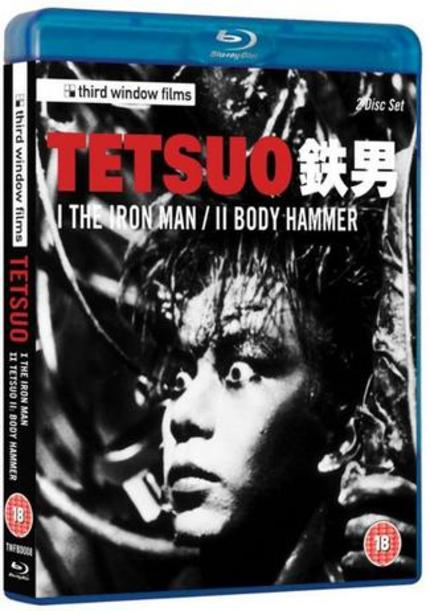 EXCLUSIVE! Third Window Films TETSUO I & II Blu-ray Trailer! Discs Coming October 8th