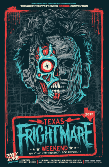 Who Will Survive The TEXAS FRIGHTMARE WEEKEND 2012 & What Will Be Left Of Them?