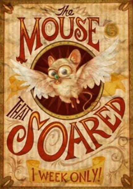 Second Trailer for Animated Short THE MOUSE THAT SOARED