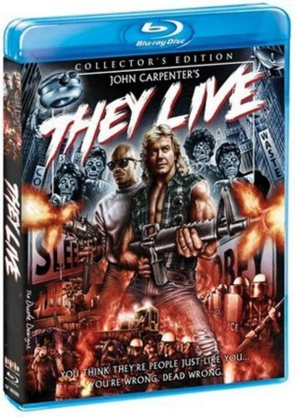 Blu-ray Review: This Election Eve, THEY LIVE Warns Against Voting For Reagan!