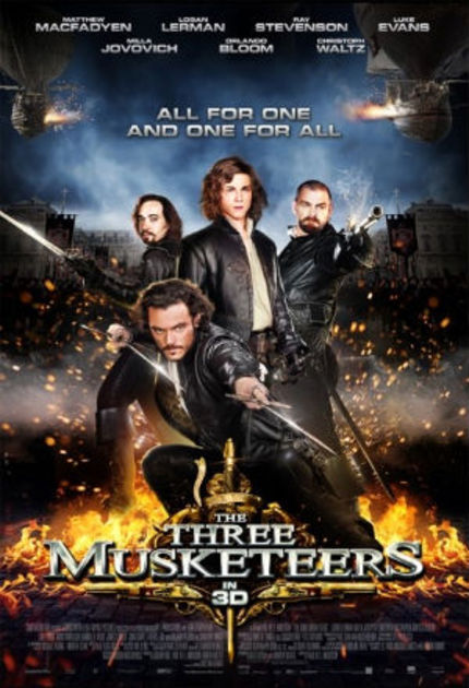 Weinberg Reviews THE THREE MUSKETEERS
