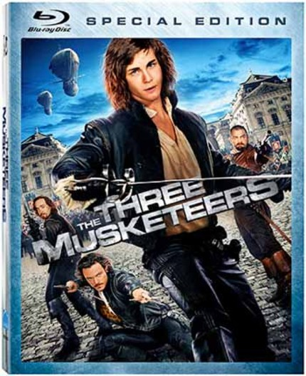 Blu-ray Review: The Confusing, Terrible Action Scenes (And Everything Else) of THE THREE MUSKETEERS