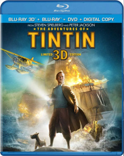 Blu-Ray Review: THE ADVENTURES OF TINTIN: SECRET OF THE UNICORN Shines at Home