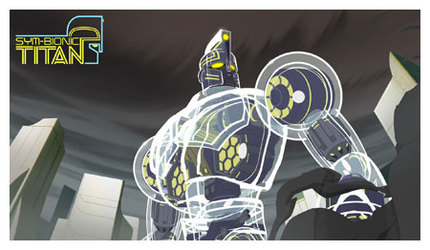 Images from Tartakovsky's latest: Sym-Bionic Titan