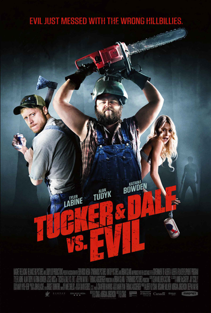 TUCKER & DALE VS. EVIL US Poster Is Here
