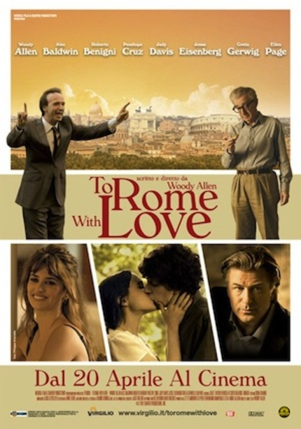 Check Out the Trailer for Woody Allen's TO ROME WITH LOVE