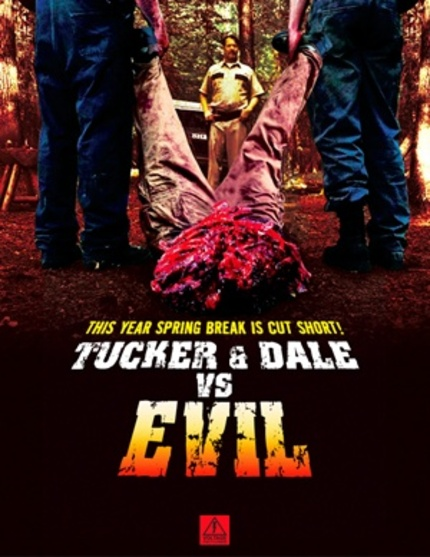 AFM 09: The Hills Are Hysterical - And Soaked With Blood - In The TUCKER AND DALE VS EVIL Promo!