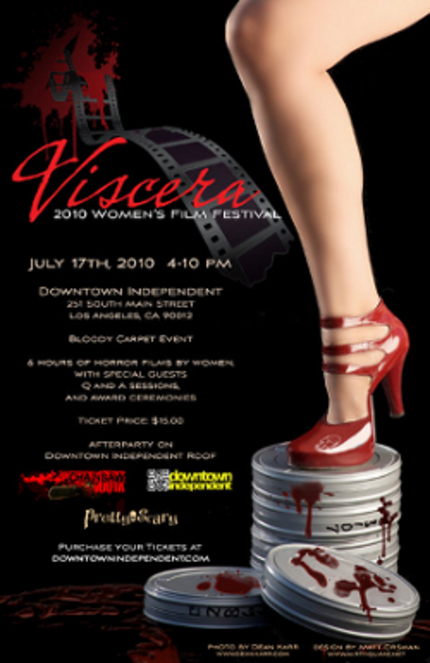 Women of Horror Showcased at the Viscera Film Festival