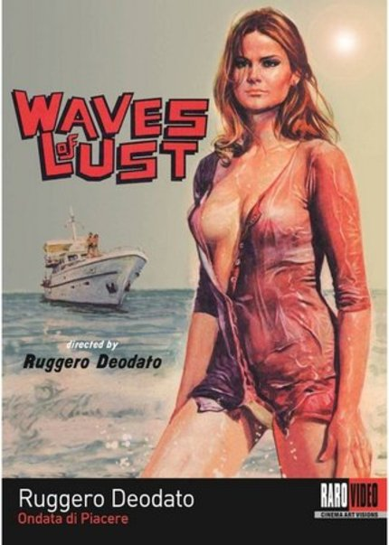 DVD Review: WAVES OF LUST Delivers A Booze'N'Boobs-Tastic Erotic Thriller As Only The Italians Can (RaroVideo USA)